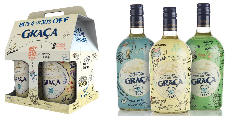 GRAÇA 30 Year Packaging