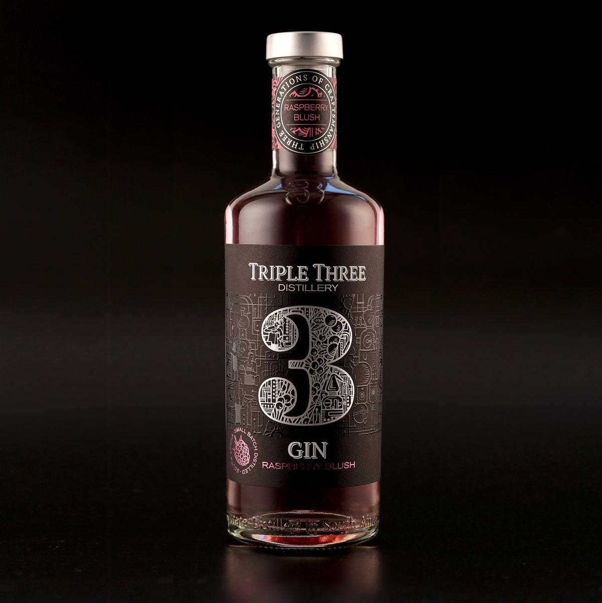 Triple 3 Raspberry Blush Gin